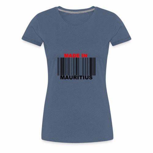 MADE IN MAURITIUS - T-shirt Premium Femme