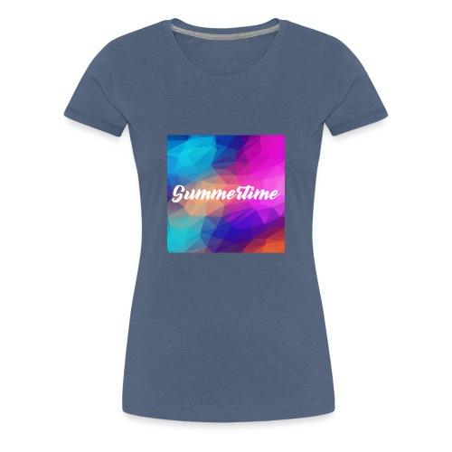SummerTime Motiv Geschenk - Frauen Premium T-Shirt