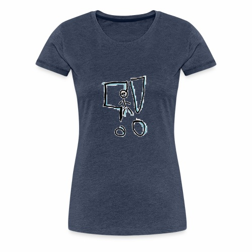 What the f.....!?! - Frauen Premium T-Shirt