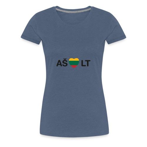 I Live LTU - Women's Premium T-Shirt