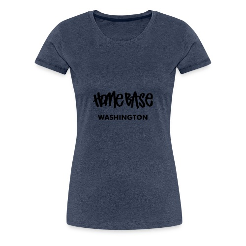 Home City Washington - Frauen Premium T-Shirt