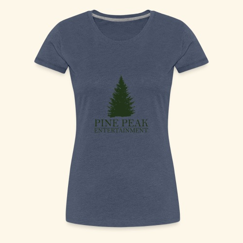 Pine Peak Entertainment - Vrouwen Premium T-shirt
