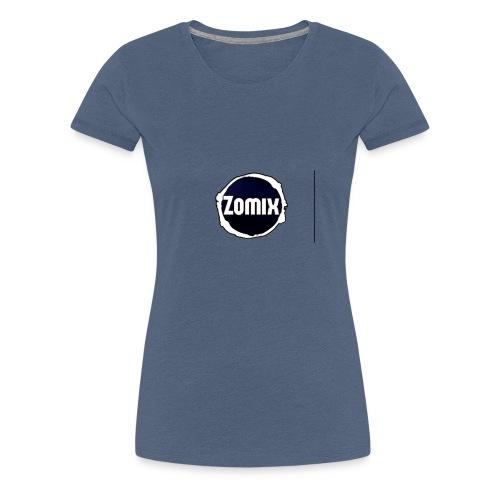 Zomix Official Logo - T-shirt Premium Femme