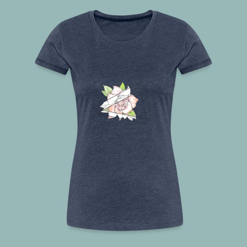 Rose Einzelnd - Frauen Premium T-Shirt