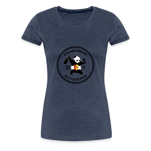 Champandas Wattenscheid - Frauen Premium T-Shirt
