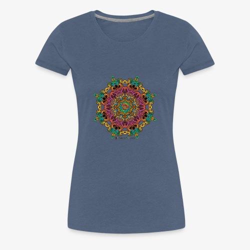 Caleidoscoop mandala - Vrouwen Premium T-shirt