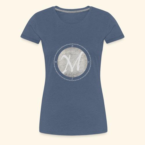 Montis logo - Premium-T-shirt dam
