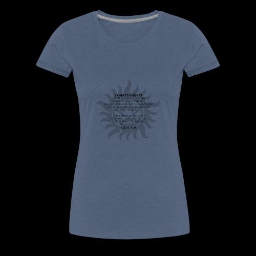 Supernatural Exorszismus - Frauen Premium T-Shirt