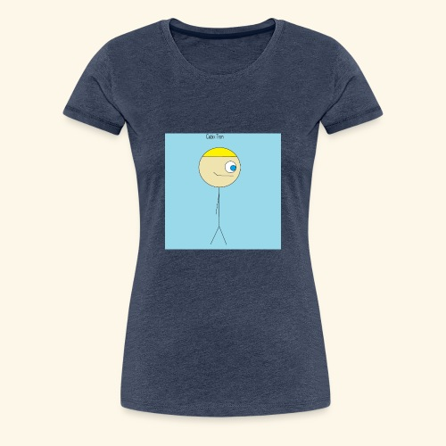 Poster Cubix Tron - Camiseta premium mujer