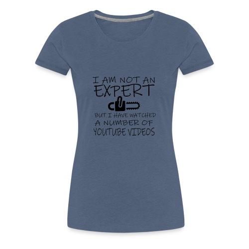 Expert Youtube Videos - Frauen Premium T-Shirt
