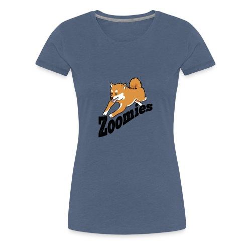 Zoomies Red Shiba - Women's Premium T-Shirt