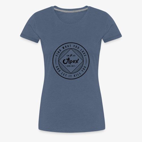 apex logo - Frauen Premium T-Shirt