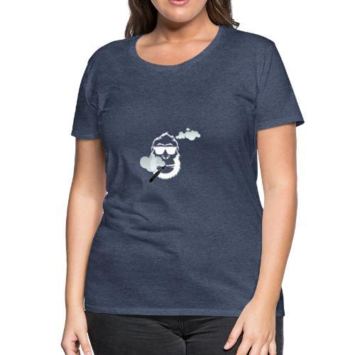 Dampf Affe - Frauen Premium T-Shirt