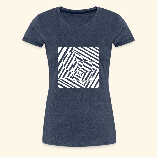 Geometrische Formen Vektor T-Shirt - Frauen Premium T-Shirt