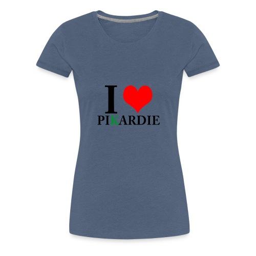 i love pikardie - T-shirt Premium Femme