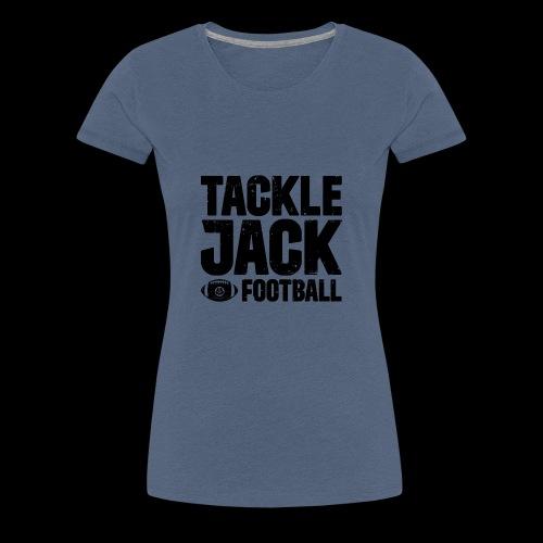 TJ FOOTBALL Block - Frauen Premium T-Shirt