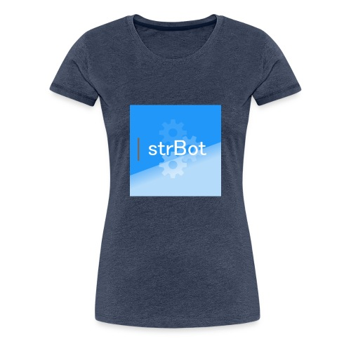 strBot Square - Women's Premium T-Shirt