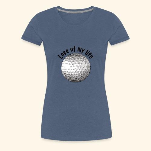 golflove1 - Frauen Premium T-Shirt