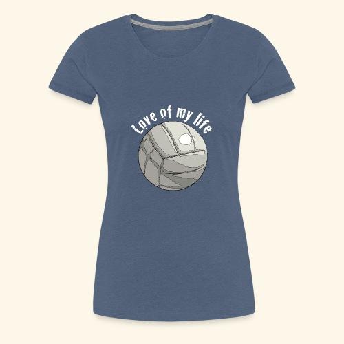 volleyblove2 - Frauen Premium T-Shirt