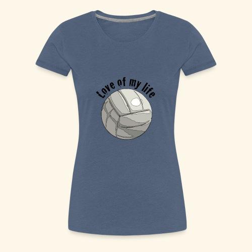 volleyblove1 - Frauen Premium T-Shirt