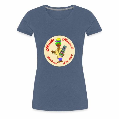 Hallo Helmut Est. 2009 Logo 2 - Frauen Premium T-Shirt