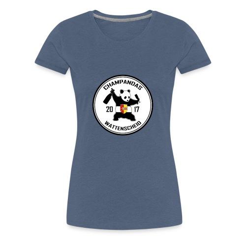 Champandas Logo - Frauen Premium T-Shirt