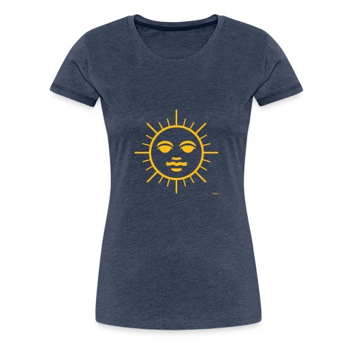 Sun Face - Women's Premium T-Shirt