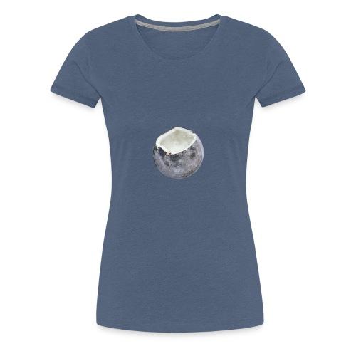 Kokosnuss Mond - Frauen Premium T-Shirt