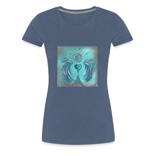 Herzengel der Befreiung von jeglichen Manipulation - Frauen Premium T-Shirt