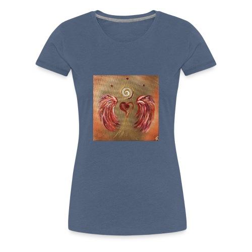 Herzengel der Selbstermächtigung - Frauen Premium T-Shirt