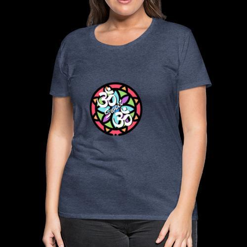 Om sweet om - T-shirt Premium Femme