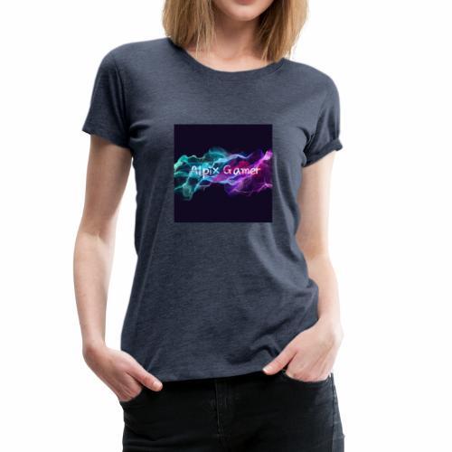 Neu Alpix Gamer Emblem - Frauen Premium T-Shirt