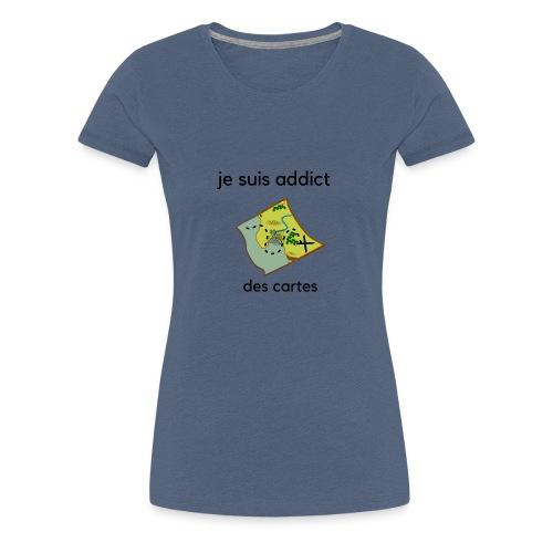 cartes - T-shirt Premium Femme
