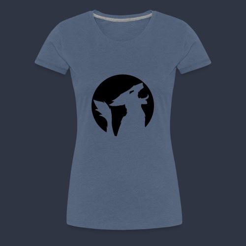 Ninoeri Sergal Logo Schwarz - Frauen Premium T-Shirt