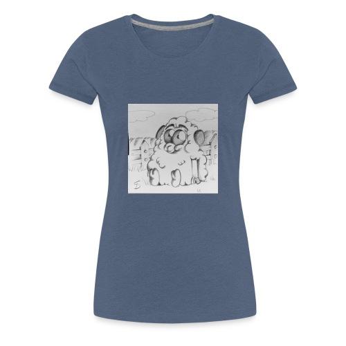 mouton - T-shirt Premium Femme