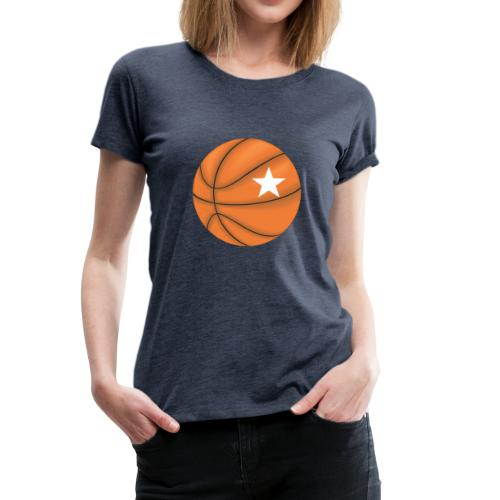 Basketball Star - Frauen Premium T-Shirt