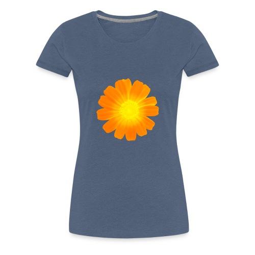 Galician Flower white 8 - Frauen Premium T-Shirt