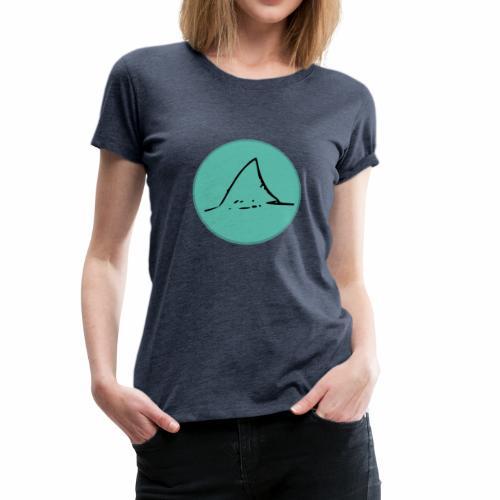 Haifischflosse - Frauen Premium T-Shirt
