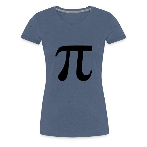 Pi Kreiszahl Mathematik - Frauen Premium T-Shirt