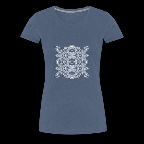 DOGLIFE 4 BLANC - T-shirt Premium Femme