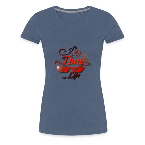 vida de cholo - Camiseta premium mujer