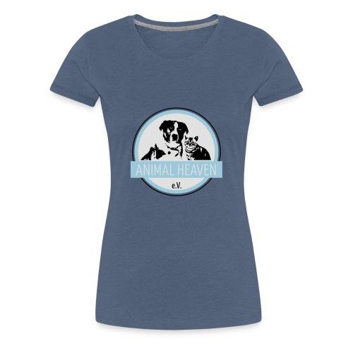 Animal Heaven e.V. Logo - Frauen Premium T-Shirt