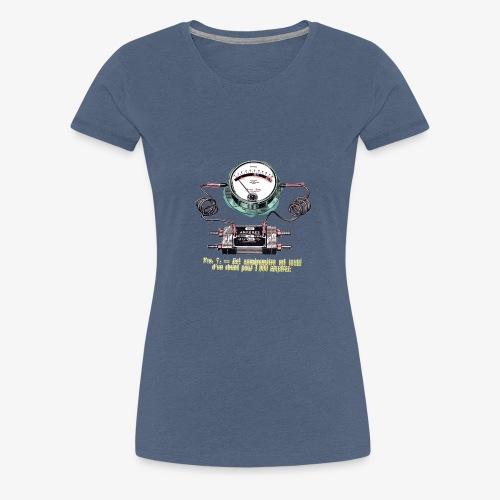 Ampères - T-shirt Premium Femme