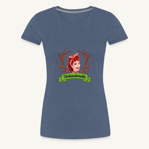 Original Tschinderella.com Logo - Frauen Premium T-Shirt