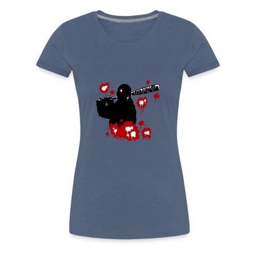 Negan red - T-shirt Premium Femme