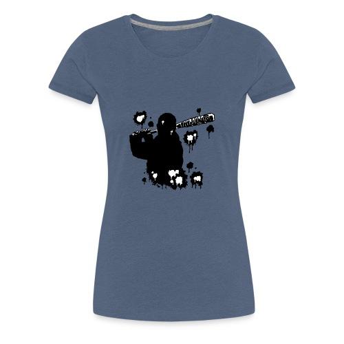 Negan black - T-shirt Premium Femme