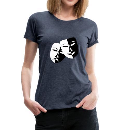 Maske Geschenk Idee - Frauen Premium T-Shirt