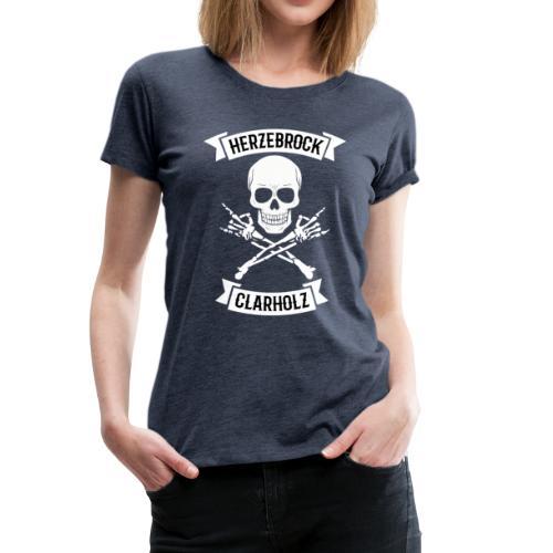 Skullhead Shirt - Herzebrock-Clarholz - Frauen Premium T-Shirt