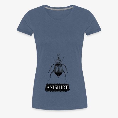 ANISHIRT Insect / Beetle / Tentyria Nomas - Women's Premium T-Shirt