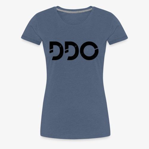 DDO in het zwart. - Vrouwen Premium T-shirt